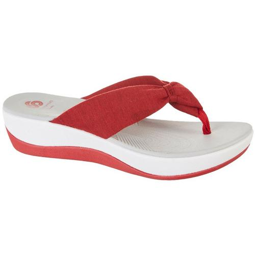 02eb3bf427d1 Clarks Womens Cloudsteppers Arla Glison Flip Flops