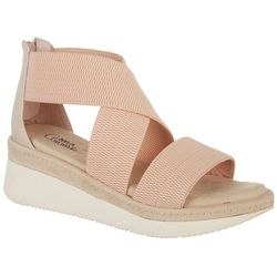 Mia Amore Womens Cassandra Wedge Sandals