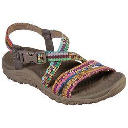 Skechers Womens Reggae Sew Me Sandal