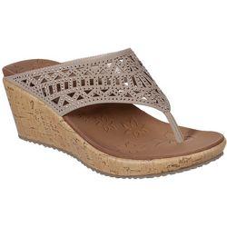 Skechers Womens CALI Veverlee Summer Visit Thong Sandals
