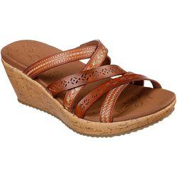 Skechers Womens Beverlee Tiger Posse Sandal