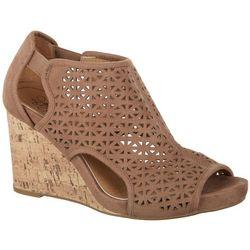 LifeStride Womens Hinx 2 Wedge Sandals