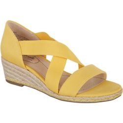 Lifestride Womens Siesta Wedge Sandal
