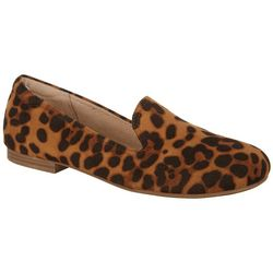 Natural Soul By Naturalizer Womens Alexis Cheetah Loafers