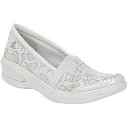 Bzees Womens Flirty Wedge Sneaker