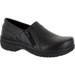 Easy Street Works Womens Bentley Black Work Shoes