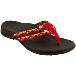 Red Willow Womens Primo Flip Flop Sandals