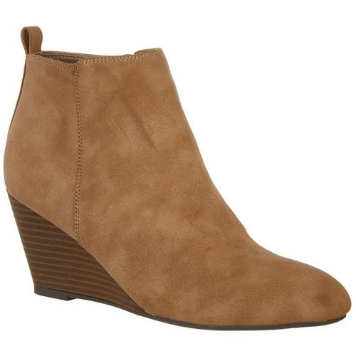 XOXO Womens Bennington Ankle Boots