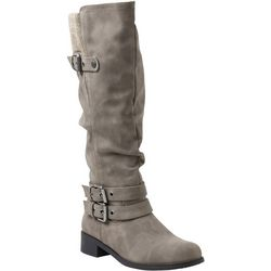 XOXO Womens Mannie Tall Boots