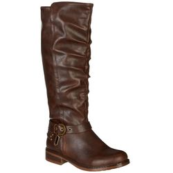 XOXO Womens Masterson Tall Boots