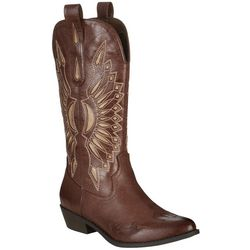 Coconuts Womens Bandera Western Boots