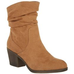 Womens Scrunched Ankle Boot