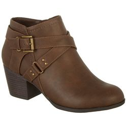 Dunes Womens Patty Ankle Boots
