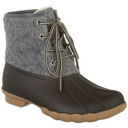 Womens Quilted  Duck boots.