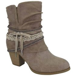 Jellypop Womens Fedora Ankle Boots