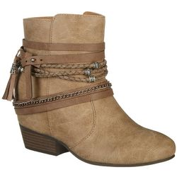 Jellypop Womens Centrallie Ankle Boots