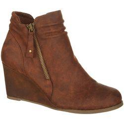 Sugar Womens Marta Wedge Boots