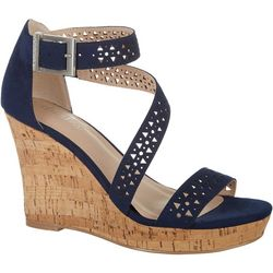 Charles by Charles David Womens Landon Wedge Sandals