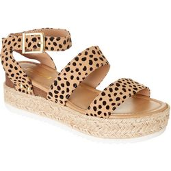 Soda Womens Bryce Platform Sandals