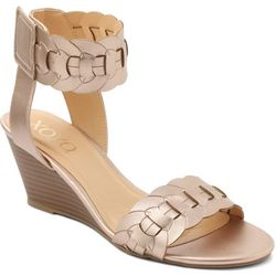 XOXO Womens Seraphine Wedge Sandals