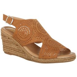 XOXO Womens Summerdale Wedge Sandals