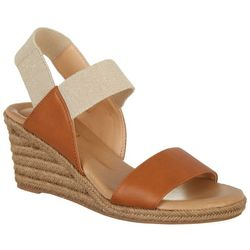 XOXO Womens Switzerland Wedge Sandals