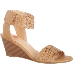 XOXO Womens Sanya Wedge Sandals