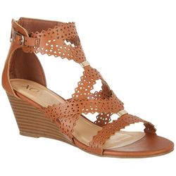 XOXO Womens Satisha Wedge Sandals