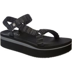 Yellow Box Womens Tayci Footbed Sandals