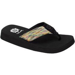 Yellow Box Womens Fotoula Flip Flop