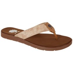 Yellow Box Womens Delrio Flip Flops
