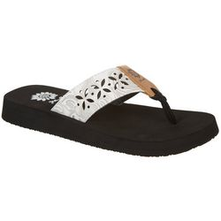 Yellow Box Womens Damara Flip Flops