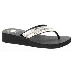 Yellow Box Womens Caliana Flip Flops