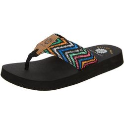 Yellow Box Womens Naadiya flip flop