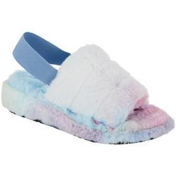 Womens Fuzzy Sandal