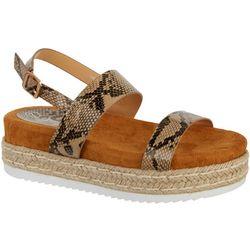 Womens Thea Snake Sandal