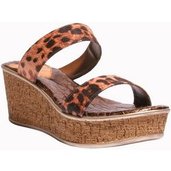 Love and Liberty Womens Zanaya Wedge Sandals
