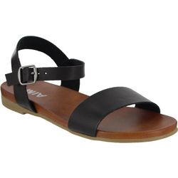 Mia Womens Casual Buckle Sandals