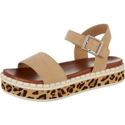 Womens Dillan Flatform Sandals