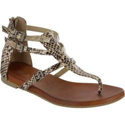 Mia Womens Dashiell Snake Sandals