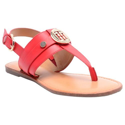 e0508ad0476f9 Tommy Hilfiger Womens Lychee Sandals