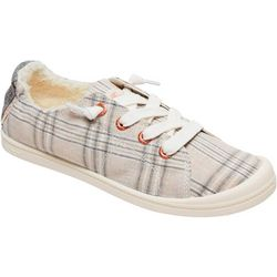Roxy Womens Bayshore Fur Plaid casual Shoes