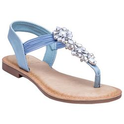GC SHOES Womens Lydia Thong Sandals