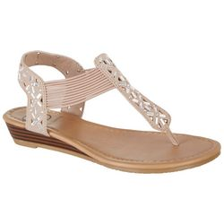 Daisy Fuentes Womens Gracie Thong Sandals