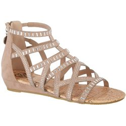 Daisy Fuentes Womens Gillian Casual Sandals