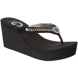 G by Guess Womens Saleen Thong Sandals