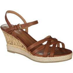 Dept 222 Womens Ivy Wedge Sandals