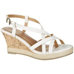 Dept 222 Womens Sophia II Wedge Sandals
