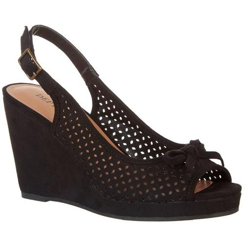 9f8db5bb918a Dept 222 Womens Evelyn Wedge Shoes