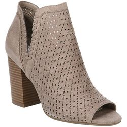 Fergalicious Womens Lincoln Peep Toe Booties